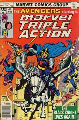 Marvel Triple Action Vol 1 (Comic-book.) #40