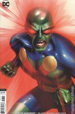 Martian Manhunter Vol. 5 (2018-...Variant Cover) (Comic Book) #7