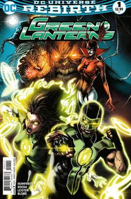 Green Lanterns Vol. 1 (2016-2018) (Comic-book) #1