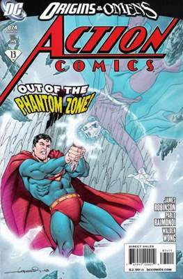 Action Comics Vol. 1 (1938-2011; 2016-) (Comic Book) #874
