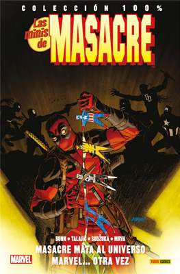 Las Minis de Masacre. 100% Marvel (Rústica con solapas) #11