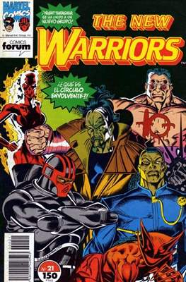 The New Warriors (Comic-Book) #21