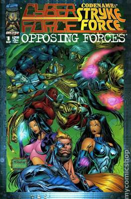Cyberforce / Codename: Strykeforce: Opposing Forces (1995) (Grapa) #1