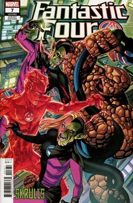 Fantastic Four Vol. 6 (2018- Variant Covers) (Comic Book) #7.3