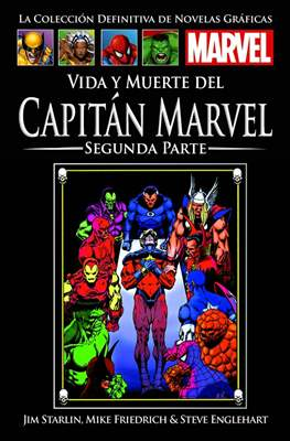 La Colección Definitiva de Novelas Gráficas Marvel #98