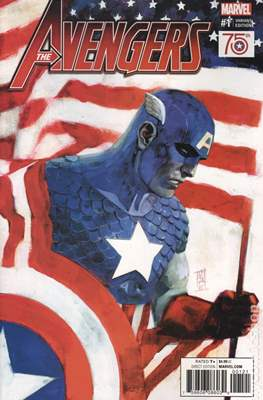 The Avengers Vol. 7 (2016-...Variant Covers ) (Grapa) #1.3