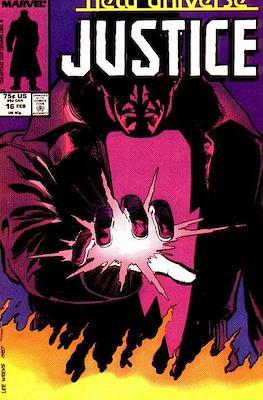 Justice. New Universe (1986) (Grapa.) #16