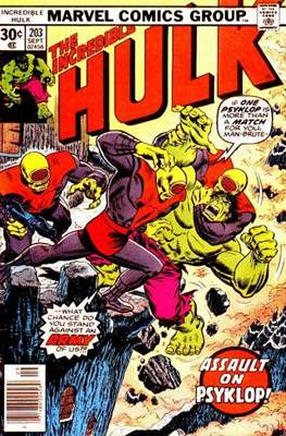 The Incredible Hulk Vol. 1 (1962-1999) (Comic Book) #203