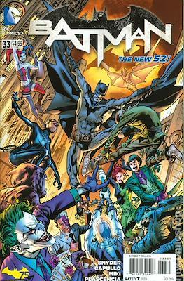 Batman Vol. 2 (2011-2016 Variant Covers) (Comic Book) #33