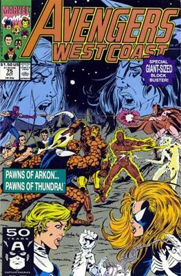 West Coast Avengers Vol. 2 (Comic-book. 1985 -1989) #75