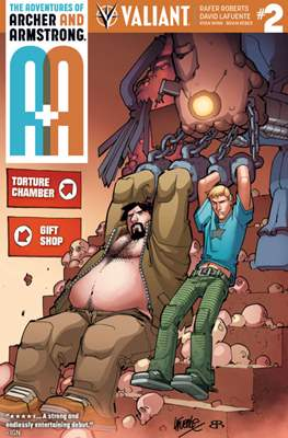 The Adventures of Archer and Armstrong (Comic Book) #2