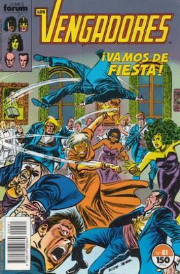Los Vengadores Vol. 1 (1983-1994) (Grapa) #81
