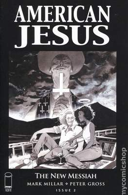 American Jesus: The New Messiah (Variant Cover) #2.1