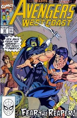 West Coast Avengers Vol. 2 (Comic-book. 1985 -1989) #65