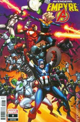 Empyre - The Avengers (Variant Cover) (Comic Book) #0.2