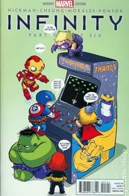 Infinity (2013-2014 Variant Cover) (Comic Book) #1.1