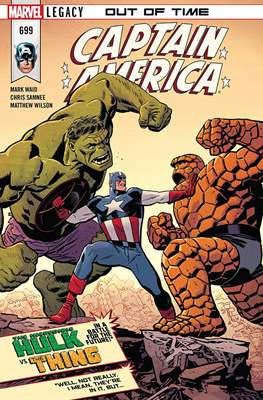 Captain America Vol. 8 (2017-2018) (Comic Book) #699