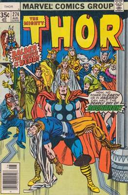 Journey into Mystery / Thor Vol 1 (Comic Book) #274