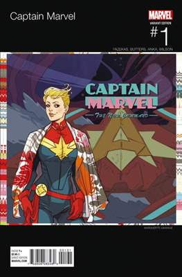 Captain Marvel Vol. 9 (2016 Variant Cover) (Comic Book) #1.1