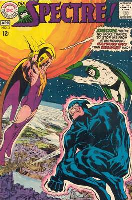 The Spectre Vol 1 (Comic Book. 1967 - 1969) #3