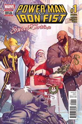 Power Man and Iron Fist Sweet Christmas Annual