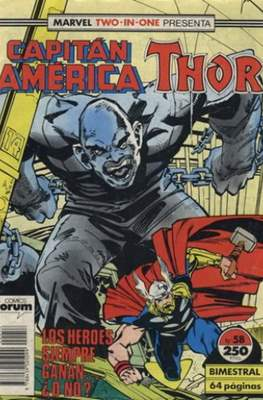 Capitán América Vol. 1 / Marvel Two-in-one: Capitán America & Thor Vol. 1 (1985-1992) (Grapa 32-64 pp) #58