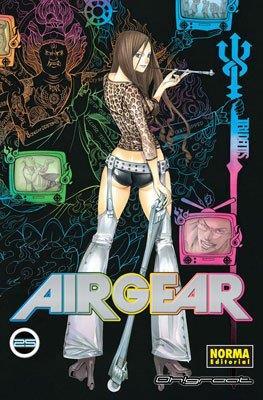 Air Gear (Rústica con sobrecubierta) #25