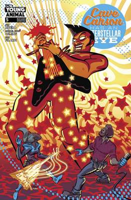 Cave Carson Has an Interstellar Eye (Comic Book) #5