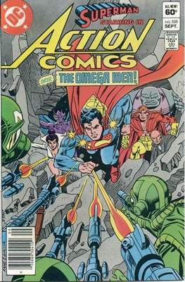 Action Comics Vol. 1 (1938-2011; 2016-) (Comic Book) #535
