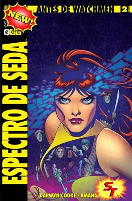Antes de Watchmen: Espectro de Seda (Grapa) #2