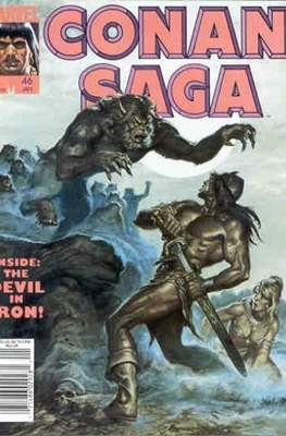 Conan Saga (Comic-book) #46