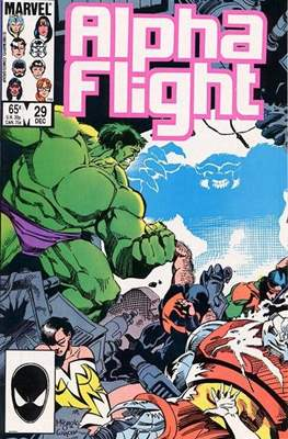 Alpha Flight Vol. 1 (1983-1994) (Comic Book) #29