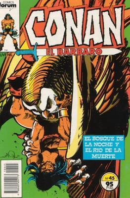Conan el Bárbaro (1983-1994) (Grapa. 19x27. 36/32/24 páginas. Color.) #45