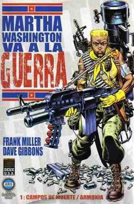 Martha Washington va a la Guerra (rustica) #1