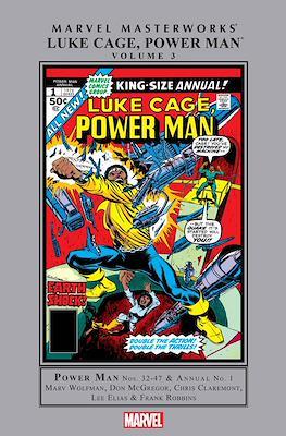 Marvel Masterworks Luke Cage Hero for Hire / Power Man (Hardcover 336-312 pp) #3