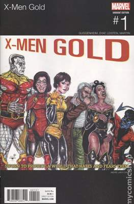 X-Men Gold (2017-... Variant Covers)
