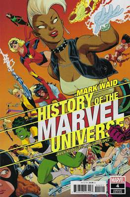 History of the Marvel Universe (Variant Cover) (Comic Book) #4