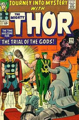 Journey into Mystery / Thor Vol 1 (Comic Book) #116