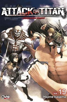 Attack on Titan (Rústica con solapas) #19