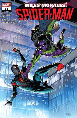 Miles Morales: Spider-Man (2018) (Comic Book) #11