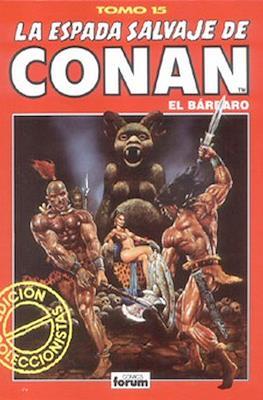 La Espada Salvaje de Conan el Bárbaro. Edición coleccionistas (Rojo) (Cartoné 192 pp) #15