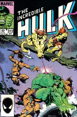 The Incredible Hulk Vol.1 (Saddle-stitched. 1962-1999) #313
