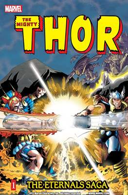 The Mighty Thor: The Eternals Saga (Softcover) #1