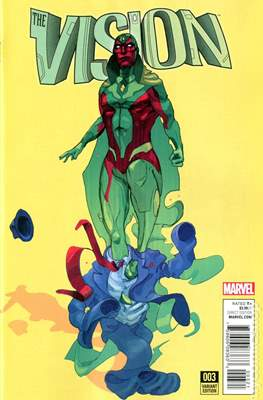 The Vision Vol. 3 (Variant Cover) (Comic Book) #3