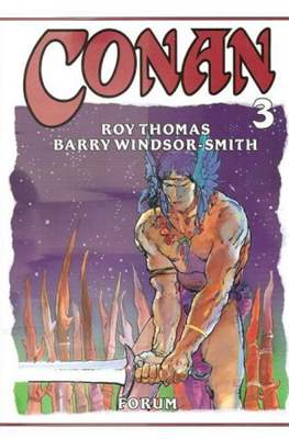 Conan. Roy Thomas & Barry Windsor-Smith (Cartoné con sobrecubierta.) #3