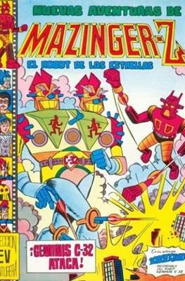 Nuevas aventuras de Mazinger-Z, el robot de las estrellas (Grapa) #15