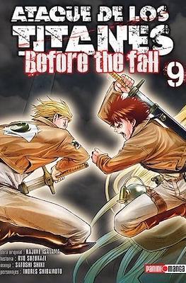 Ataque de los Titanes: Before the Fall (Rústica) #9