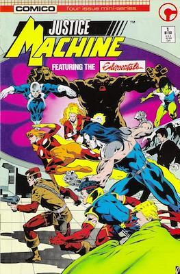 Justice Machine Featuring The Elementals (Comic Book) #1