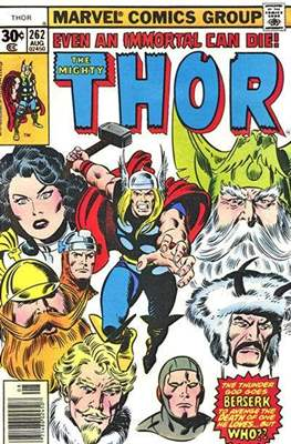 Journey into Mystery / Thor Vol 1 (Comic Book) #262