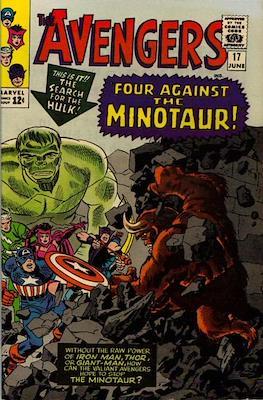 The Avengers Vol. 1 (1963-1996) (Grapa) #17